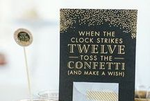 Holiday / new year's eve / New year's decoration and inspiration for your upcoming party