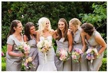 Grey / Silver Weddings / A variety of wedding ideas in the shades of grey and/or silver. #gray #grey #wedding #weddings #shower #party / by Something Floral™