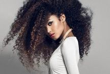 Rock It Natural / Let your curls shine. Natural African American hair styles and curly girl hair styles for all women. Rock it natural! #teamnatural #naturalstyle #naturalhair #curly #curlyhair