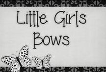 › Little Girls Bows. / › cute bows for girls!