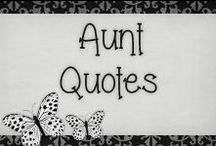 › Aunt Quotes. / Finally i get to become an aunt and i'm so happy about it!!