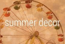 Home / summer inspiration / Inspiration to get your home and self ready for the summer.