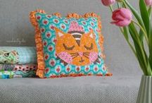 Pillow Talk / A collection of inspiration and tutorials for decorative cushions, pillows & pillowcases, sleeping bags, napmats & restful accessories. #handmade #diy / by Kristy Smith / Hopeful Threads