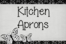 › Kitchen Aprons. / cute aprons for cooking or baking...