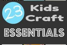 Things 4 CRAFTING: Kids Crafts / by Erica Haack