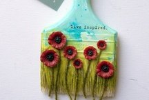 the Altered brush Project / by donna downey - artist
