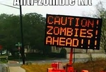 Anti-Zombie Zone / Because I am terrified of zombies and want all of them to stay away....and is it too much to ask Hollywood to slow down with all the zombiness please...just ew!