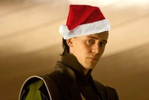 A Very Hiddle Holiday / Pictures of Tom/Loki related to holidays