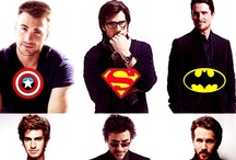 Superheroes. / by Abigail Hernandez