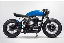 Cool Motorbikes / Cafe racers, harleys, customs.