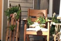 Christmas Outdoor Deco / by Adele Lewis