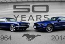 Mustangs / All Things Mustang...Happy 50th Anniversary!! / by Carla Allison