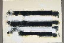 black + white / by donna downey - artist