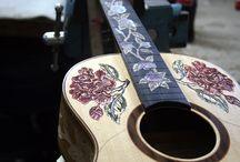 Guitars ! / beautiful, unique guitars / by Cheyenne Zaretzki