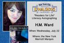 Signings & Events / HM Ward at conventions and author signings! Swicked!