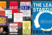 Books for startups / Want to truely kick-off your startup? Then you should know what you're getting into. Read at least SOME of these great books to have that start your dreaming off.