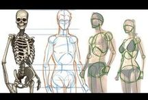 Drawing: Human Figure Tutorials / by The Art of Education