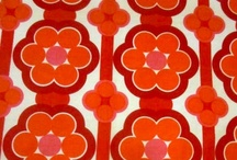Prints - Seventies / vintage seventies, retro and 70's inspired textile prints