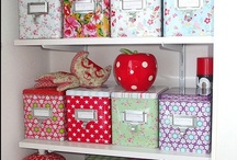 de-cluttering, organisation and storage / by Sally Cooper