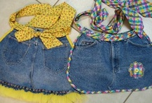 recycled jeans / by Nancy Sokol