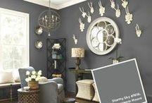 Benjamin Moore Paint / Benjamin Moore paint colors and inspiration! / by Thybony Interiors ... Paint, Wallpaper, Blinds & Design!