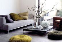 INTERIOR DESIGN / Interior design. Simple. Elegant. Home.