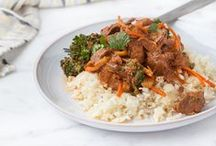 """Slow Cooker Recipes / Slow cooker recipes, slow cooker chicken, slow cooker recipes healthy, slow cooker meals, crock pot recipes, crock pot meals, easy crock pot meals, etc! Slow cooker meals that you can prep in the morning (or even earlier!) so you always know the answer to, """"what's for dinner?""""."""