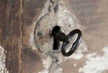 old keys & locks