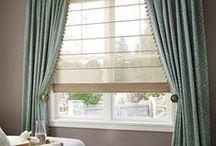 Custom Window Treatment Ideas / Custom window treatment ideas for inspiration. Our workrooms will custom make your treatments beautifully!