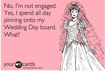 No I'm not engaged...Yes I Will Spend All Day Pinning About Weddings. / by Elaina Dimond