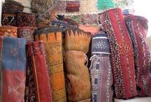 Magic Carpet Ride / Color, texture and textiles
