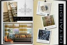 Designer Scrapbooks / Scrapbooks created by the interior designers at Thybony are meant to inspire you and the designs for your home!
