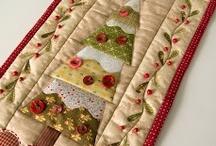 natal / Todos os projetos de patchwork para  o Natal.