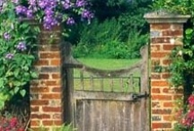 Through the Garden Gate / by sharon parfett