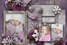 purple scrapbooking / by Nancy Sokol