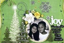 green and yellow scrapbooking / by Nancy Sokol