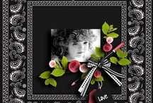 black and white scrapbooking / by Nancy Sokol