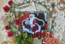 red and orange scrapbooking / by Nancy Sokol