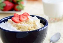 """Rice for Breakfast / Wake up and start your day off the """"rice"""" way, with a bowl of Hinode Rice!"""