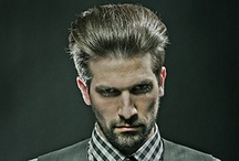 RAW Men Collection / The highly sought after Eric Fisher Salon team enjoys celebrity status around the globe for their award winning portfolio and trend breaking hair designs. This section exhibits Eric Fisher's Pure Form haircutting system and an assortment of note worthy collections.