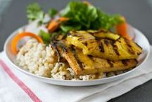 BBQ Easy as 1-2-3 / Transform your meal by pairing Hinode Rice with some protein, grilled to perfection!