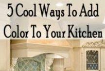 Kitchen / dinning room / by Sheri WATSON