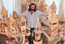 Miniature world / Doll houses, fairy places, and miniature pieces / by Edith Stewart