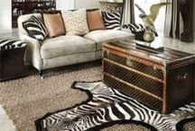 Design Trend: Layering Rugs / Layer your rugs like you layer your clothes!