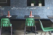 D I N I N G   O U T / Retail design of restaurants, bars, cafees ect.  Places you dine out.