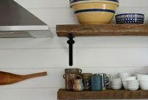 Kitchen shelves ! Inspiration !