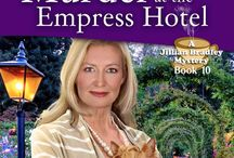Murder at the Empress Hotel / Feisty gardening columnist Jillian Bradley, her clue sniffing Yorkie, and garden club friends help solve homicides - Afternoon tea included.