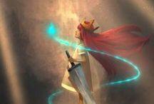 VideoGames + Concept Art / by Leithian