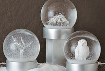 I love Snow Globes / I'm starting a collection of snow globes.  And this board is an inspiration.