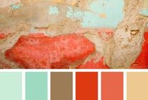 Color Palettes / Color combinations for the home!